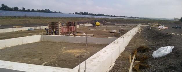 Neubau Landtechnik Zimmermann aus 56751 Polch  27.09.2013