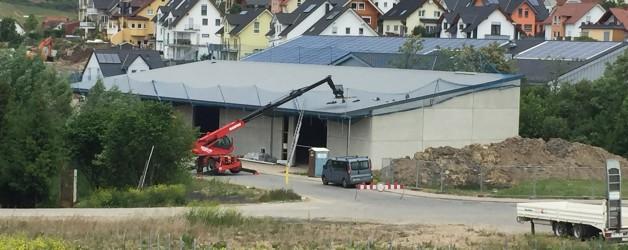 Bild Baustelle Weingut Mann    29.05.2015