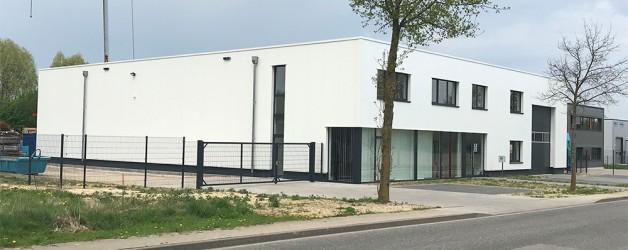 Gebäude für das Bauunternehmen Leuchter aus 52447 Alsdorf  fertiggestellt