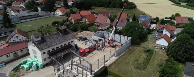 Bauvorhaben Möbel vom Gutshof  55437 Ober – Hilbersheim   09.07.2019