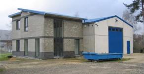 Lagerhalle 150 m² für Bauunternehmung