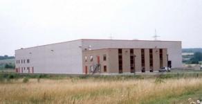 Lagerhalle mit Bürotrakt