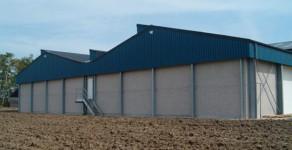 Kartoffellager + Maschinenhalle